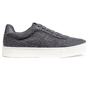 H&M Felted Sneakers